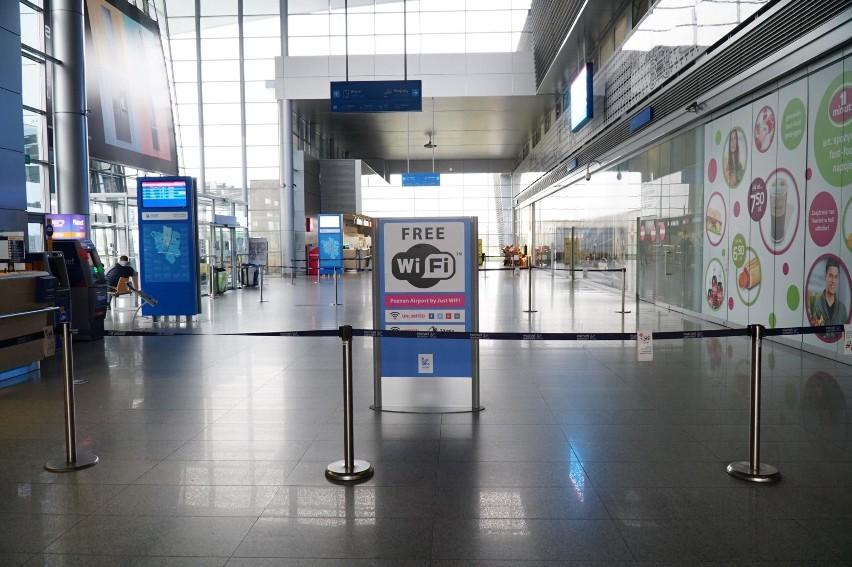 Z poznańskiego lotniska Ławica aktualnie lata nie wiele...