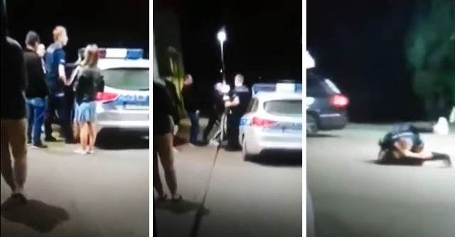 Na Facebooku krąży film z interwencji na stacji w Zakopanem. Został nagrany przez postronną osobę