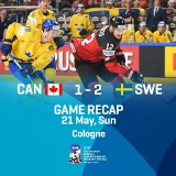 Szwedzi po karnych hokejowymi mistrzami świata!