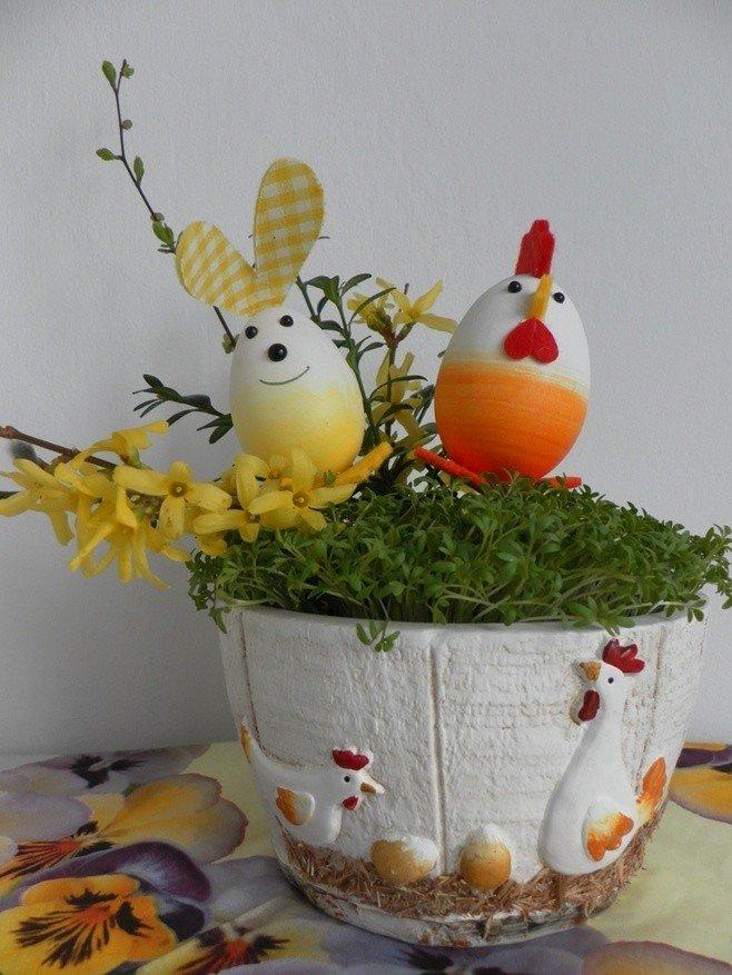 Ozdoby Wielkanocne I Dekoracje Na Stół Stroiki Pisanki Kwiaty I
