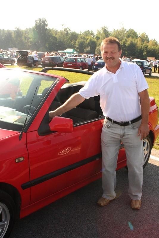 Pana Henryka zainteresował wczoraj Miedzianej Górze volkswagen golf kabriolet z 1996 roku wystawiony z ceną 9,5 tysiąca złotych.