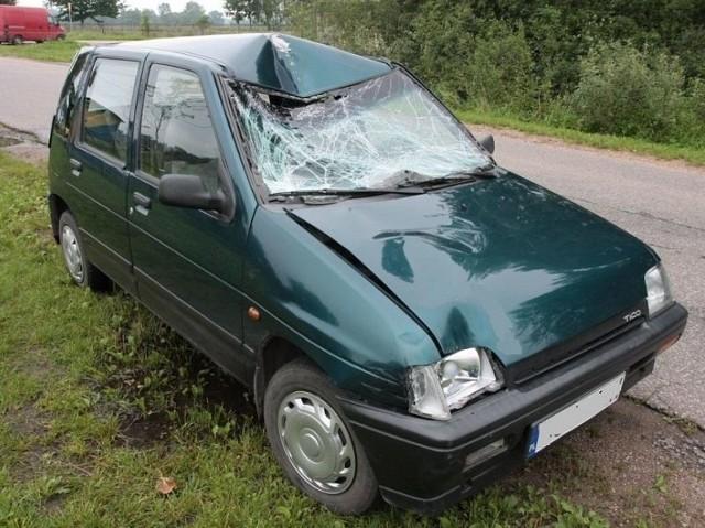 Hajnowscy policjanci wyjaśniają przyczyny i okoliczności wypadku