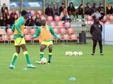 Mistrzostwa świata U-20. Reprezentanci Senegalu ćwiczyli  na stadionie łódzkiej Szkoły Mistrzostwa Sportowego