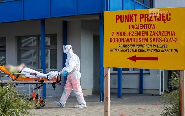 Szpital przy Arkońskiej w Szczecinie