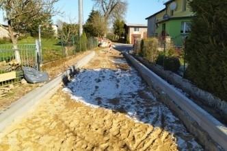 Ruszyła przebudowa ulicy Kasztanowej w Kramarzynach