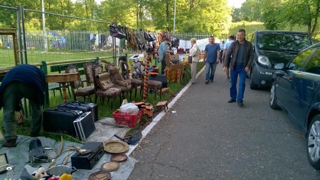 Giełda staroci w Bytomiu - czerwiec 2016