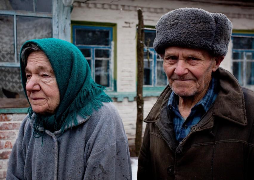Maria i Ivan Semnyuk  z Paryszewa. Gdy w 2017 r. fotografka...
