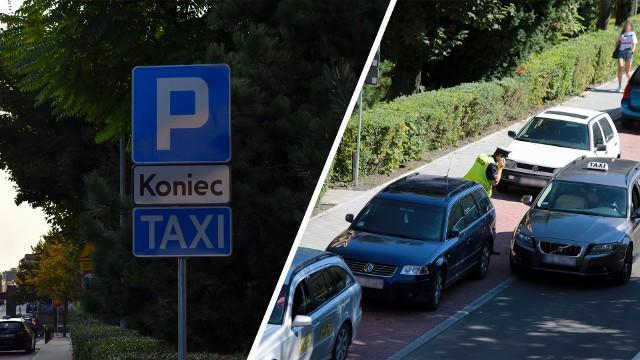 Nieprawidłowe parkowanie na Nullo w Olkuszu