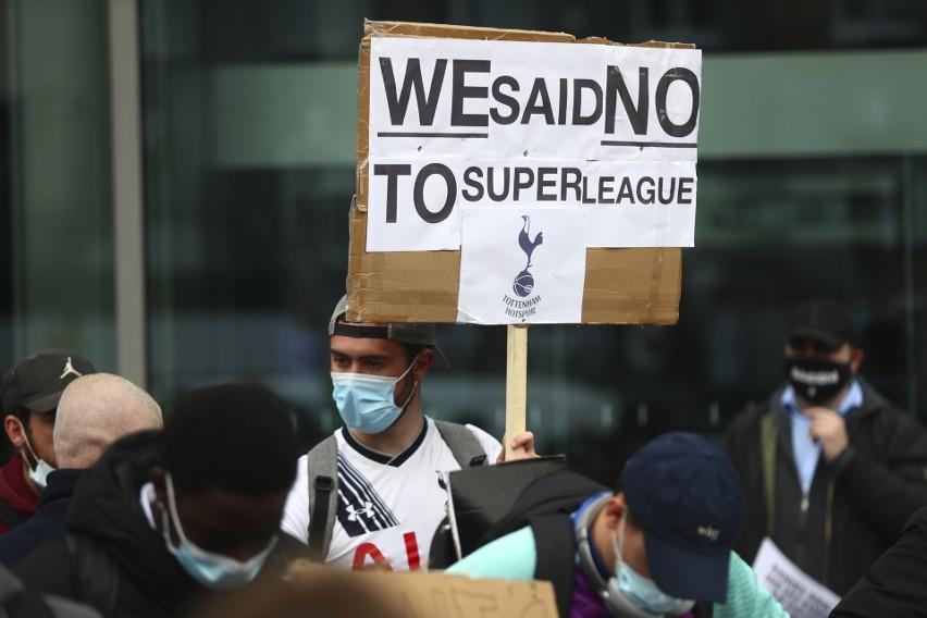 Protest przeciwko Superlidze