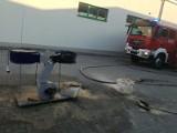 Dąbrowa Tarnowska. Pożar w markecie. Ewakuowano klientów i pracowników