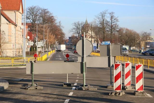 Droga wciąż jest zablokowana, choć termin zakończenia prac dawno już minął.