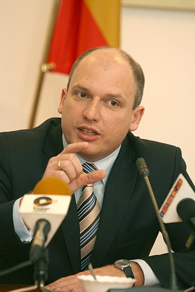 Łukasz Magin, lider radnych wyrzuconych z PO