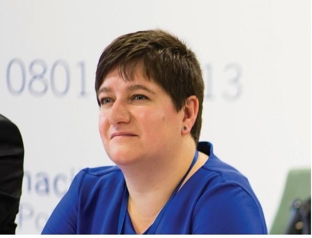 Joanna Sarosiek, dyrektor Departamentu Rozwoju Regionalnego Urzędu Marszałkowskiego Województwa Podlaskiego, funduszami unijnymi zajmuje się od 10 lat.