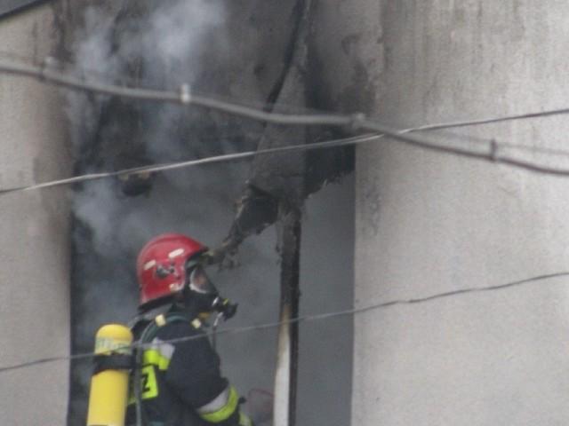 W Zaborowie pod Brodnicą w pożarze zginął mężczyzna