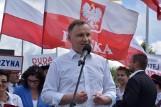 Andrzej Duda w Kościerzynie. Prezydent spotkał się z mieszkańcami. Główne działania rządu nakierowane na ratowanie gospodarki przed kryzysem