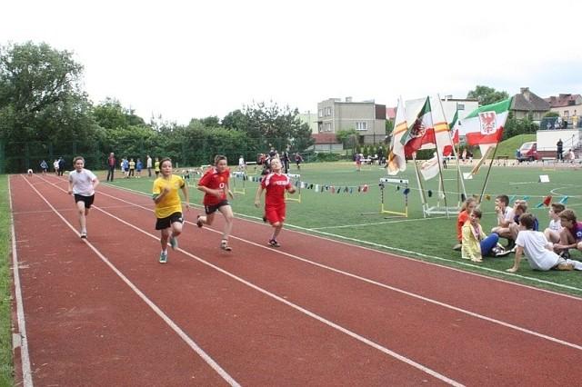 Gorzowska Spartakiada Młodzieży w trójboju lekkoatletycznym.