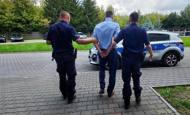 38-letni mieszkaniec gminy Gomunice będzie odpowiadał przed sądem.