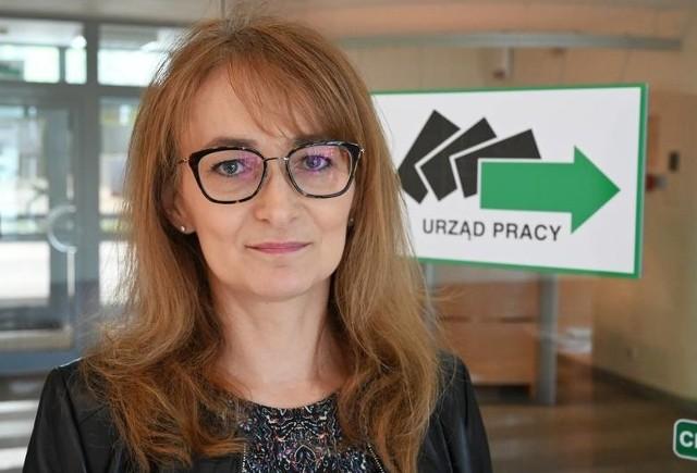 Aleksandra Marcinkowska - dyrektor Wojewódzkiego Urzędu Pracy w Kielcach.