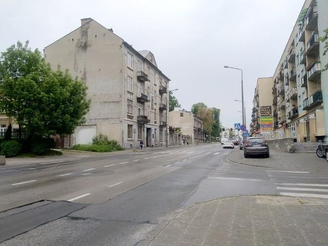 Prace będą prowadzone na tym odcinku ulicy 25 Czerwca w Radomiu.