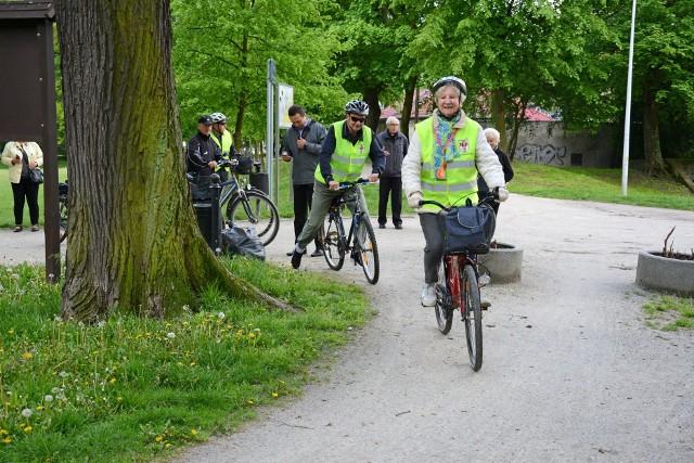 Inauguracja sezonu rowerowego 2021 w Kluczborku.