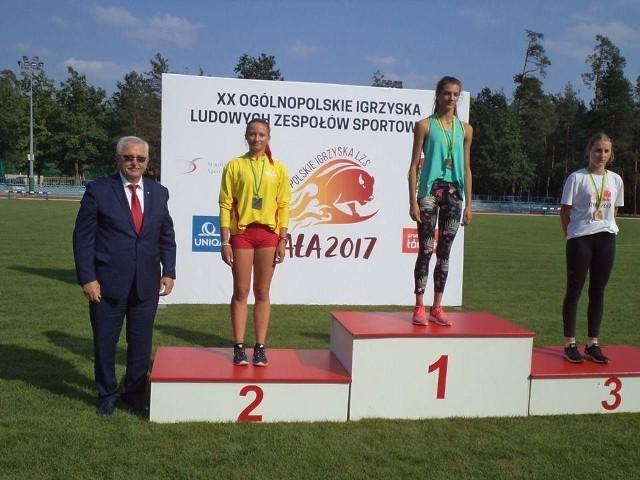 Patrycja Banaś ze Słoneczka w Spale wywalczyła srebrny medal.