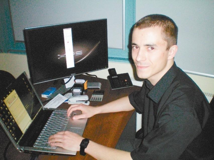 Marcin Niedźwiecki, właściciel firmy z branży informatycznej z Opola: - Studiujący na tym kierunku powinni zawczasu pomyśleć o pracy i wybrać poszukiwaną specjalizację.
