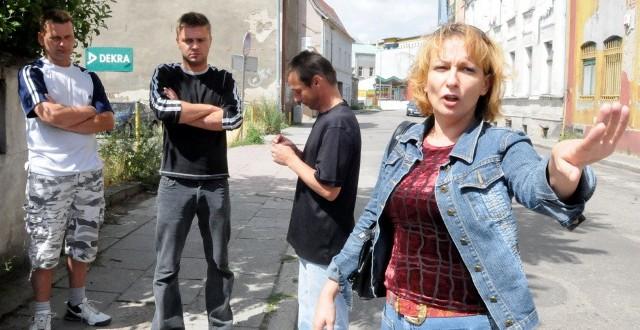 - Straż miejska i policja zachowały się skandalicznie! - mówili Monika i Jacek Błaszyk, Łukasz Kulbacki oraz Krzysztof Godlejewski.