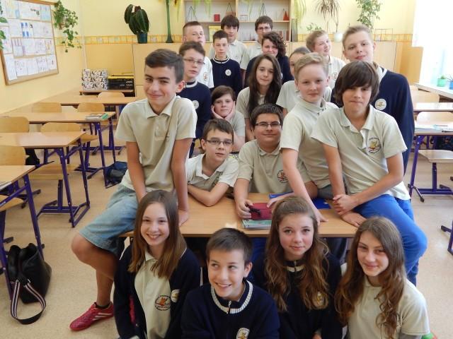 Klasa VIa z SP 15 w Gorzowie