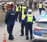 Białogrądy. Tragiczny wypadek na DK 65. Kierowca busa zginął na miejscu [ZDJĘCIA]