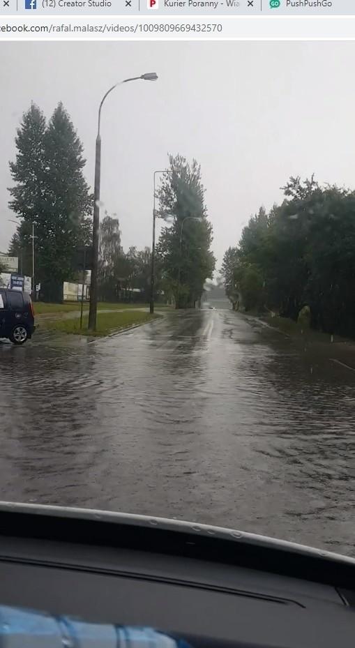 Wystarczyło kilkadziesiąt minut opadów 30 sierpnia, by Białystok był  wielu miejscach zalany. W nocy z 30 na 31 sierpnia było znacznie gorzej