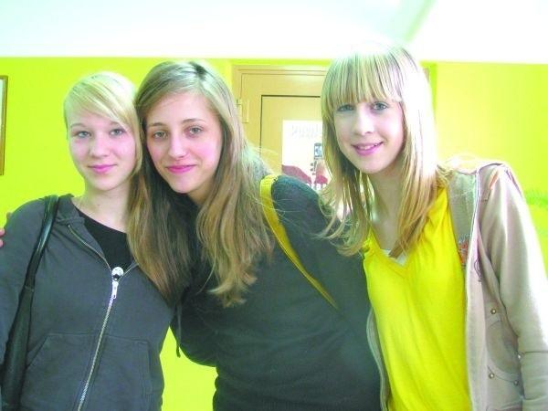 Kiedyś znowu przyjadę do Polski – mówi Laura (na zdjęciu pierwsza z lewej, obok stoją Ewelina i Karolina)