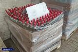W Łodzi zlikwidowano nielegalną rozlewnię alkoholu. Zatrzymano 55 tys. litrów spirytusu do produkcji fałszywych wódek