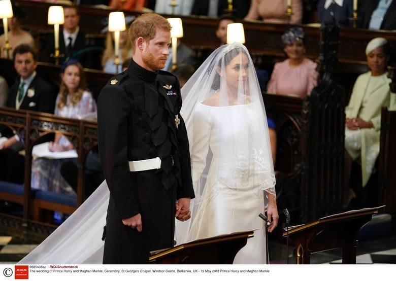 Ślub księcia Harry'ego i Meghan Markle DUŻO FILMÓW + ZDJĘĆ...