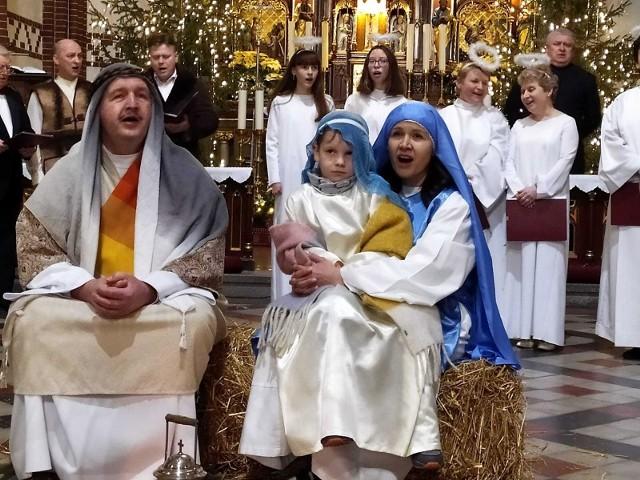 Święta Rodzina po powrocie z Egiptu do Nazaretu.