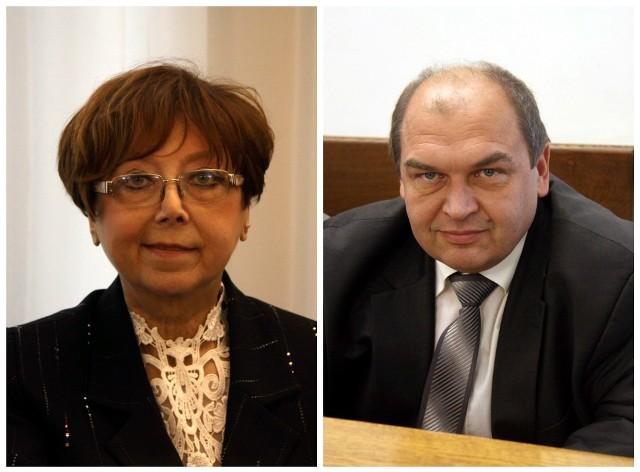 Helena Pietraszkiewicz i Piotr Gawryszczak