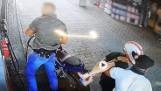 Gminna Korzenna. Sądeccy policjanci zatrzymali złodzieja i odzyskali skradziony motocykl. Pojazd powrócił do właściciela