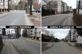 Rozpoczynają się prace na ul. Karpiej i Dworskiej, będą utrudnienia. Drogowcy chcą podnieść skrzyżowanie, a mieszkańcy bronią drzewa