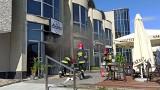 Wrocław: Pożar restauracji na Oporowie. Ogień pojawił się w kuchni