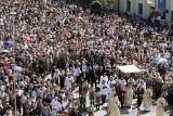 Boże Ciało w Białymstoku w 2011 roku. Wielka procesja przeszła przez miasto