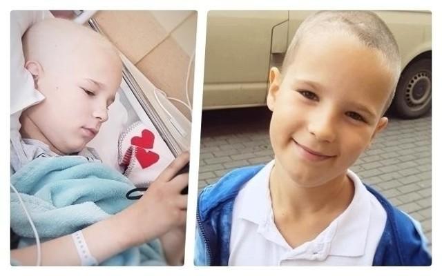 Kacper Teszner z Włocławka ma 10 lat. Chłopiec walczy z nowotworem. Szansę na wyleczenie daje mu lekarz ze Stanów Zjednoczonych. Potrzeba 4 mln zł