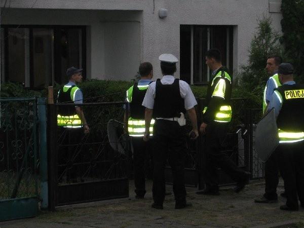 Brodnicka policja, wspólnie z brygadą  antyterrorystyczną, obezwładniła 39-letniego  Jarosława G.