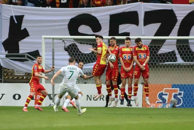 Żółto-Czerwoni na koniec sezonu pokonali Lechię, ale nie zatarło to niekorzystnego obrazu zakończonego sezonu