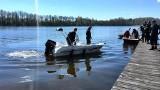 Rożyńsk. Tragedia nad jeziorem. Wyłowili ciało 44-latka (zdjęcia)