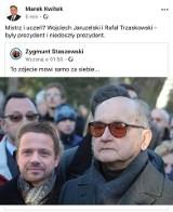 Poseł Marek Kwitek z Sandomierza na Facebooku porównał Trzaskowskiego do Jaruzelskiego. Zrobiła się burza, poseł przeprasza