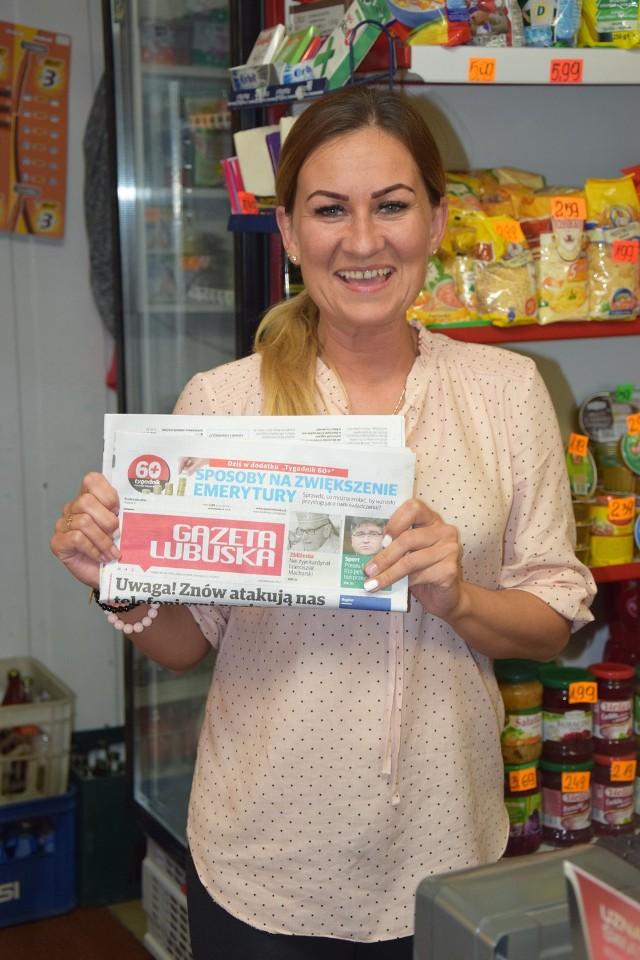 Agnieszka Smoley, sklep Małgosia, Strzelce Kraj. Wyślij SMS:  DSKLEP.20 na nr 72355