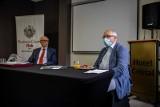 Prof. Robert Flisiak w Loży Białostockiej BCC: COVID-19 i co dalej, czyli, co nasz czeka w związku z pandemią? (zdjęcia)