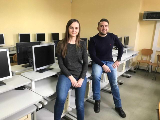 Uczelnia ruszy z rekrutacją do projektu już w kwietniu - informują: Sylwia Mielnik i Marcin Oleksiuk.