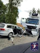 Tragiczny wypadek w Zajączkowie! Kobieta nie żyje, ciężko ranne dziecko
