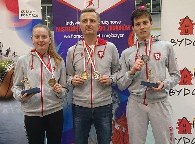 Mistrzostwa Polski juniorów we florecie w Bydgoszczy