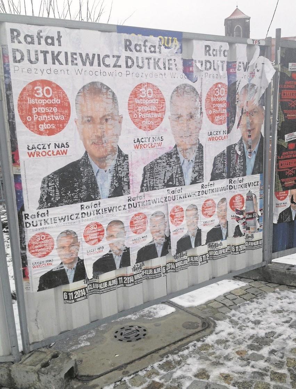 Prezydent Nie Posprzątał Po Sobie Plakaty Wyborcze Szpecą